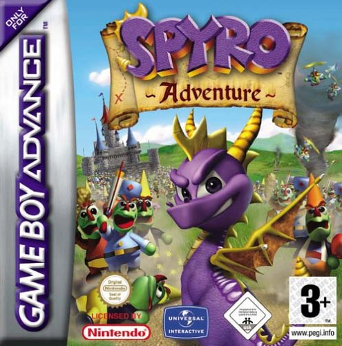 Caratula de Spyro Adventure para Game Boy Advance