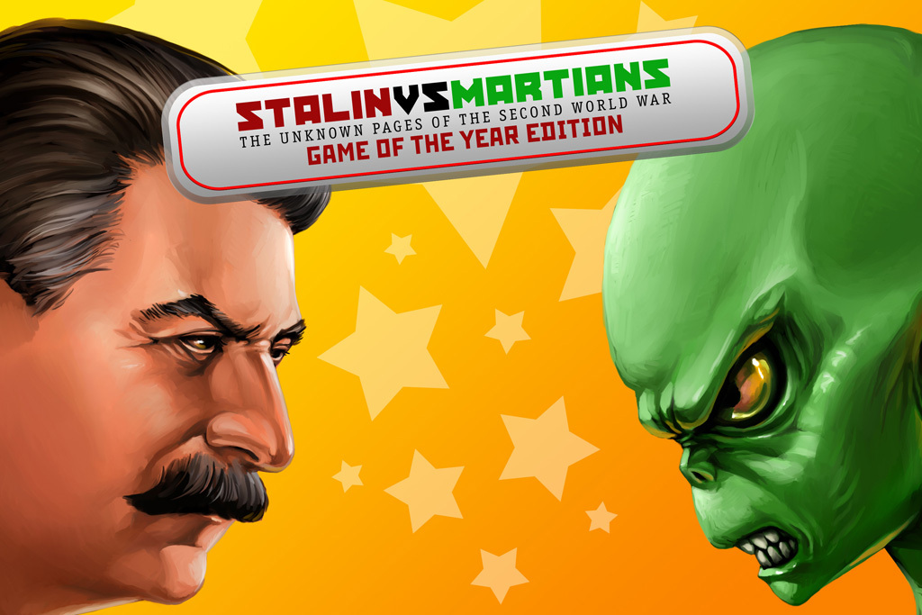 Pantallazo de Stalin vs. Martians para PC