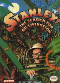 Caratula de Stanley: The Search for Dr. Livingston para Nintendo (NES)