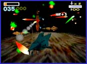 Pantallazo de Star Fox 64 [Players Choice] para Nintendo 64