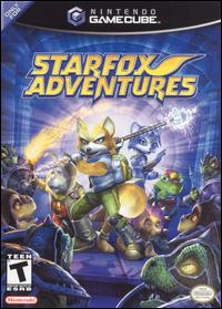 Caratula de Star Fox Adventures para GameCube