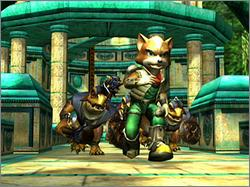Pantallazo de Star Fox Adventures para GameCube