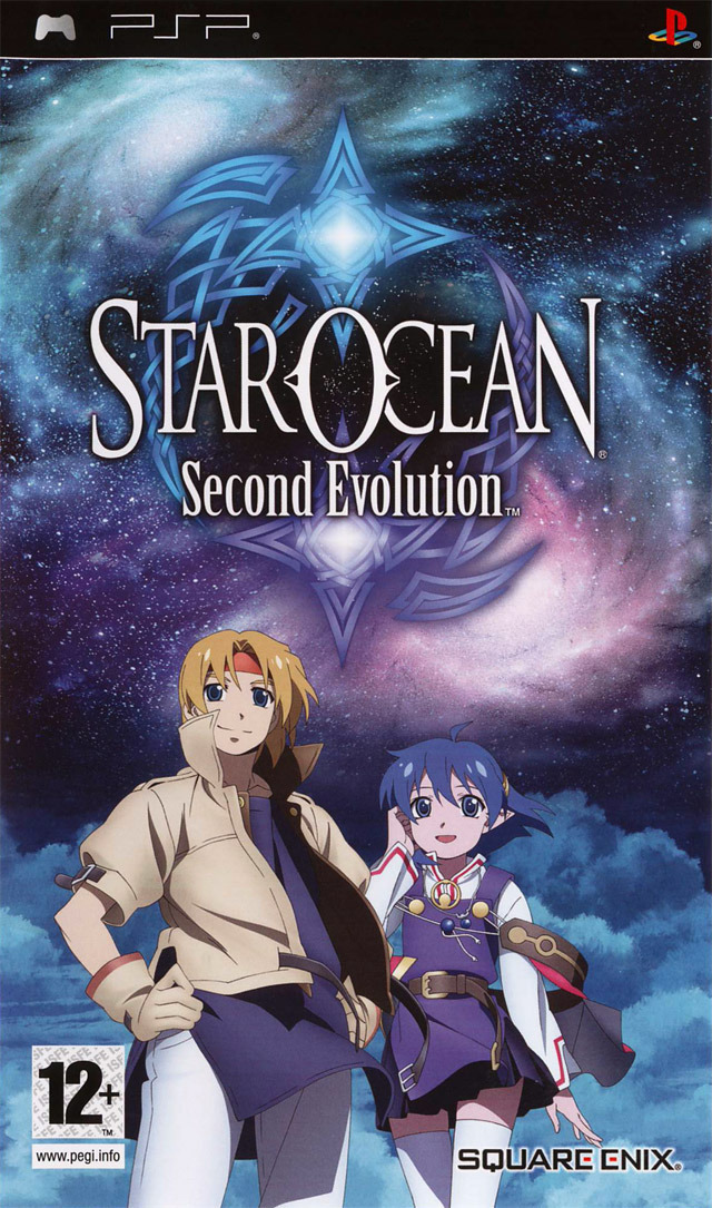 Caratula de Star Ocean: Second Evolution para PSP