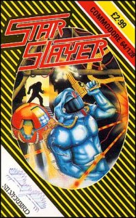 Caratula de Star Slayer para Commodore 64