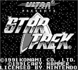Pantallazo de Star Trek: 25th Anniversary para Game Boy
