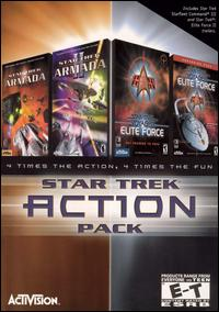 Caratula de Star Trek: Acción Pack para PC