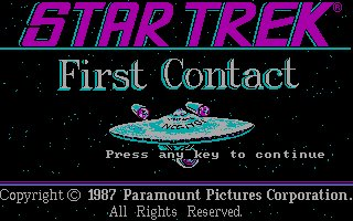 Pantallazo de Star Trek: First Contact para PC