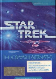 Caratula de Star Trek: The Kobayashi Alternative para PC