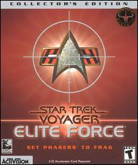 Caratula de Star Trek: Voyager -- Elite Force Collector's Edition para PC