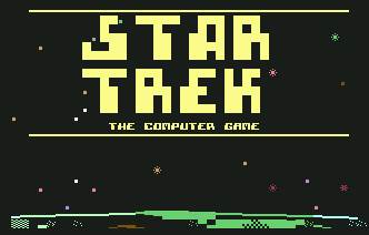Pantallazo de Star Trek the Computer Game para Commodore 64