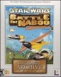 Caratula de Star Wars: Battle for Naboo [LucasArts Archive Series] para PC