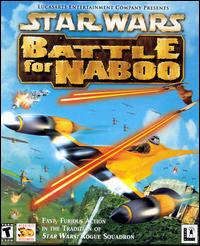 Caratula de Star Wars: Battle for Naboo para PC