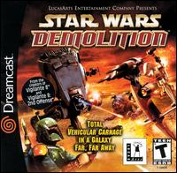 Caratula de Star Wars: Demolition para Dreamcast