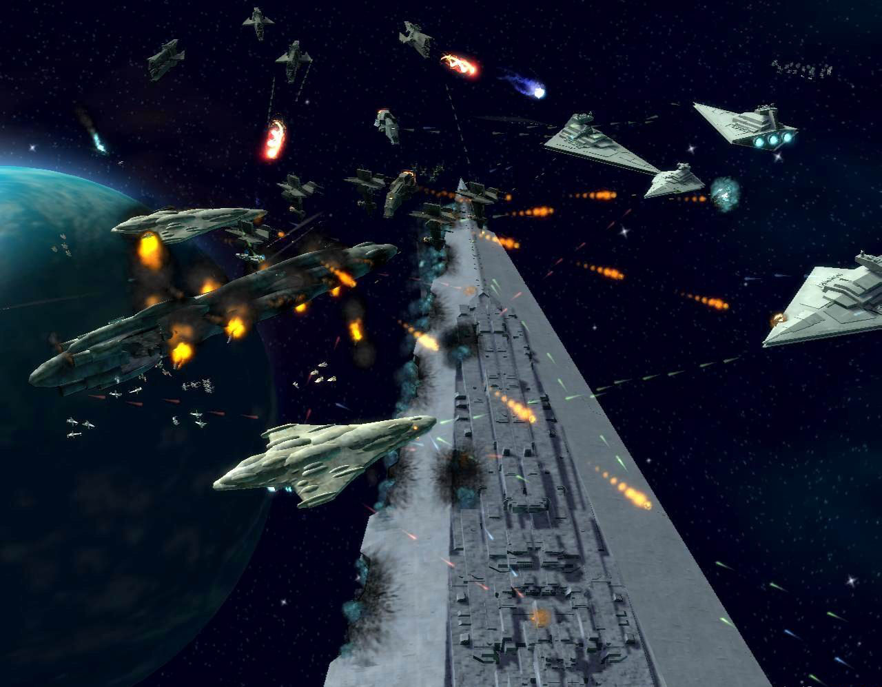 Star wars empire at war forces of corruption pantallazo de pc a