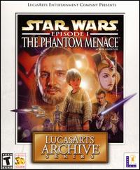 Caratula de Star Wars: Episode I: The Phantom Menace -- LucasArts Archive Series para PC