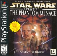 Caratula de Star Wars: Episode I: The Phantom Menace para PlayStation