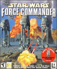 Caratula de Star Wars: Force Commander para PC