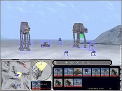 Pantallazo de Star Wars: Force Commander para PC