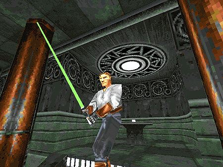 Pantallazo de Star Wars: Jedi Knight -- Dark Forces II with Mysteries of the Sith para PC