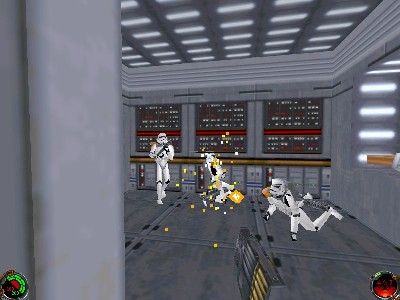 Pantallazo de Star Wars: Jedi Knight -- Dark Forces II para PC