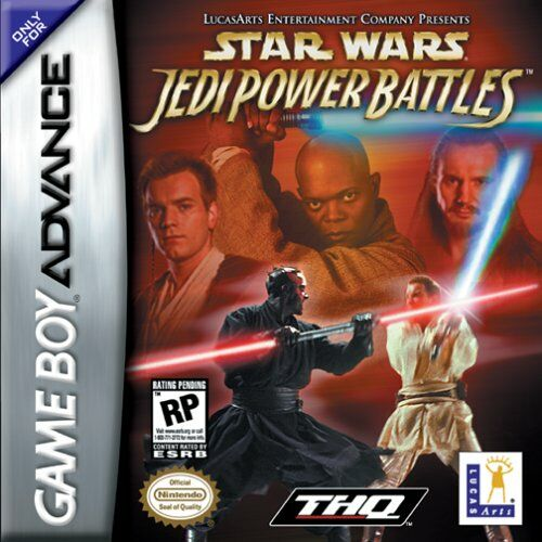 Caratula de Star Wars: Jedi Power Battles para Game Boy Advance