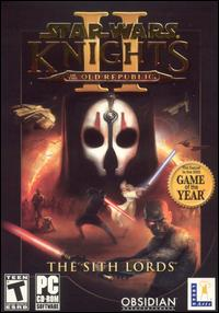 Caratula de Star Wars: Knights of the Old Republic II -- The Sith Lords para PC