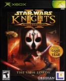 Caratula nº 106406 de Star Wars: Knights of the Old Republic II -- The Sith Lords (200 x 279)