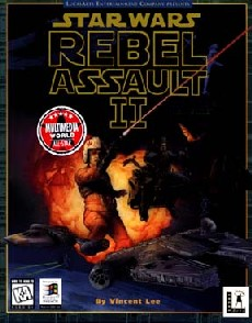 Caratula de Star Wars: Rebel Assault II with Rebel Assault para PC