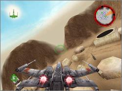 Pantallazo de Star Wars: Rogue Squadron 3D [Jewel Case] para PC