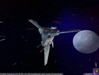 Pantallazo de Star Wars: Starfighter para PC