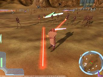 Pantallazo de Star Wars: The Clone Wars para GameCube