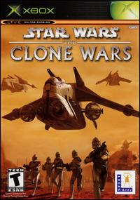 Caratula de Star Wars: The Clone Wars para Xbox