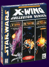 Caratula de Star Wars: X-Wing Collector's CD-ROM with X-Wing vs. TIE Fighter missions para PC