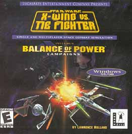 Caratula de Star Wars: X-Wing vs. TIE Fighter with Balance of Power Campaigns para PC