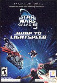 Caratula de Star Wars Galaxies: Jump to Lightspeed para PC