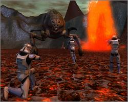 Pantallazo de Star Wars Galaxies: Trials of Obi-Wan para PC