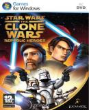 Carátula de Star Wars The Clone Wars: Los Heroes de la Republica