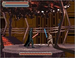 Pantallazo de Star Wars Trilogy: Apprentice of the Force para Game Boy Advance