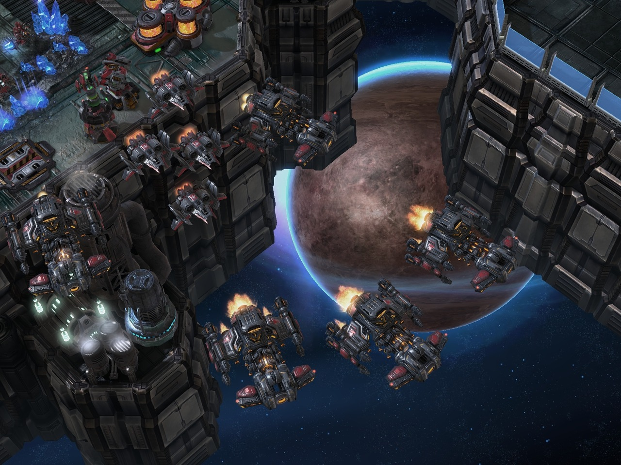 Pantallazo de Starcraft II: Heart of the Swarm para PC