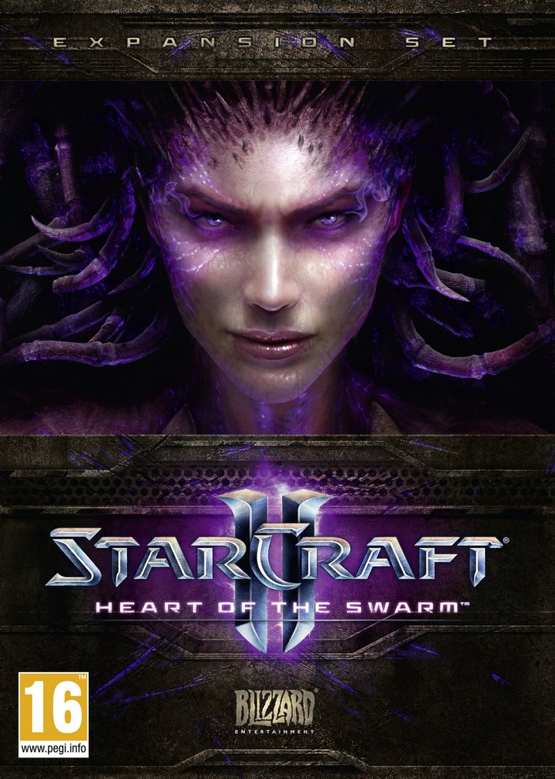 Caratula de Starcraft II: Heart of the Swarm para PC
