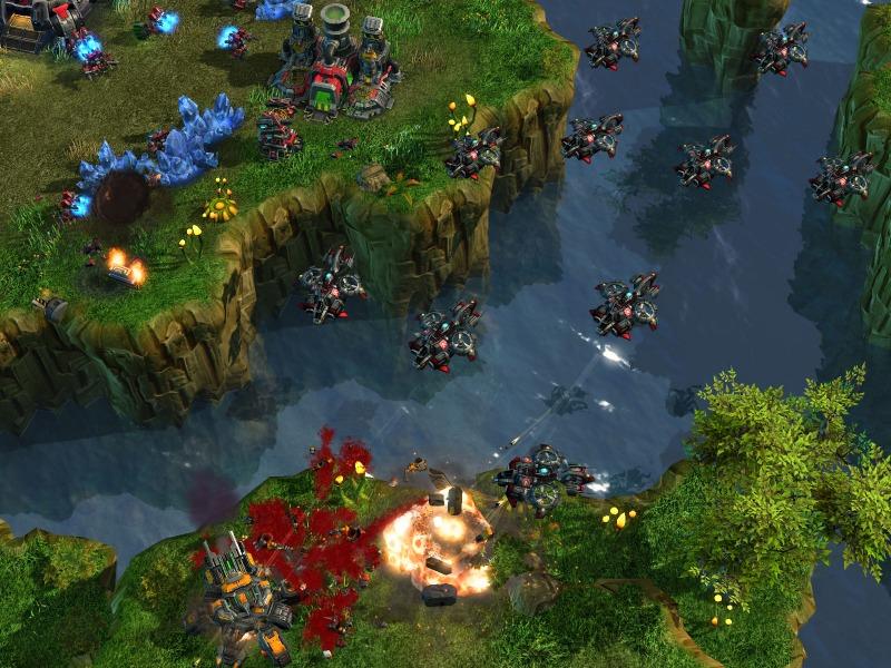 Pantallazo de Starcraft II - Terrans: Wings of Liberty para PC
