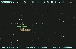 Pantallazo de Starfighter I para Commodore 64