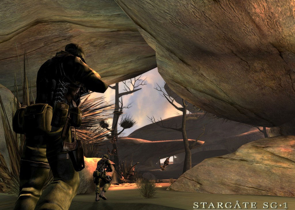 Pantallazo de Stargate SG-1: The Alliance para Xbox