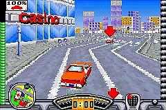 Pantallazo de Starsky & Hutch para Game Boy Advance