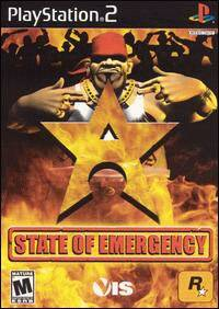 Caratula de State of Emergency para PlayStation 2