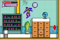 Pantallazo de Static Shock para Game Boy Advance