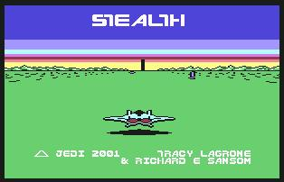 Pantallazo de Stealth para Commodore 64