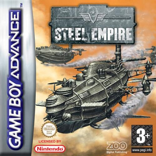 Caratula de Steel Empire para Game Boy Advance