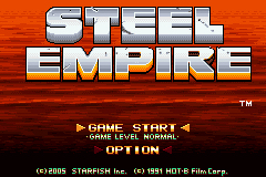 Pantallazo de Steel Empire para Game Boy Advance