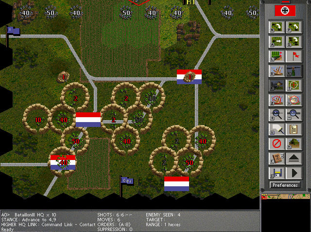Pantallazo de Steel Panthers III: Brigade Command para PC